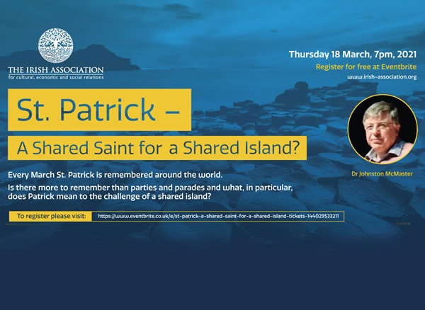 St Patrick - A Shared Saint for a Shared Island