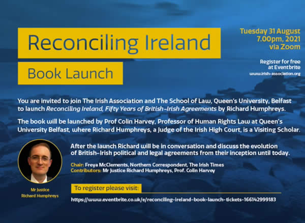 Reconciling Ireland - Book Launch